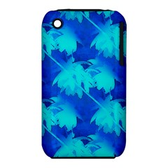 Coconut Palm Trees Ocean Blue Iphone 3s/3gs by CrypticFragmentsColors