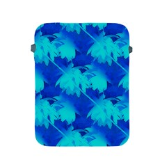 Coconut Palm Trees Ocean Blue Apple Ipad 2/3/4 Protective Soft Cases by CrypticFragmentsColors