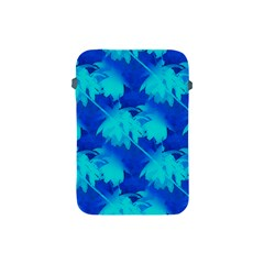Coconut Palm Trees Ocean Blue Apple Ipad Mini Protective Soft Cases by CrypticFragmentsColors
