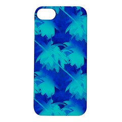 Coconut Palm Trees Ocean Blue Apple Iphone 5s/ Se Hardshell Case by CrypticFragmentsColors