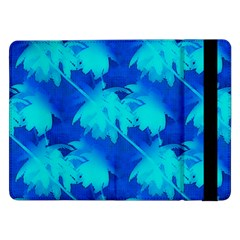 Coconut Palm Trees Ocean Blue Samsung Galaxy Tab Pro 12 2  Flip Case by CrypticFragmentsColors