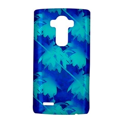 Coconut Palm Trees Ocean Blue Lg by CrypticFragmentsColors