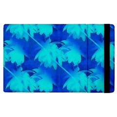 Coconut Palm Trees Ocean Blue Apple Ipad Pro 12 9   Flip Case by CrypticFragmentsColors