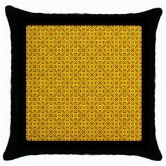 Toghu Throw Pillow Case (black) by OneRolly