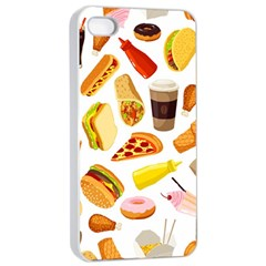53356631 L Apple Iphone 4/4s Seamless Case (white) by caloriefreedresses