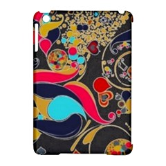 Retro Swirls In Black Apple Ipad Mini Hardshell Case (compatible With Smart Cover) by flipstylezdes