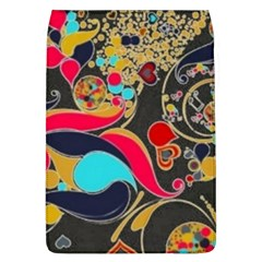 Retro Swirls In Black Flap Covers (l)  by flipstylezdes