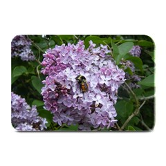 Lilac Bumble Bee Plate Mats by IIPhotographyAndDesigns
