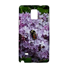 Lilac Bumble Bee Samsung Galaxy Note 4 Hardshell Case by IIPhotographyAndDesigns