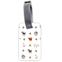 Farm Animals Luggage Tags (one Side)