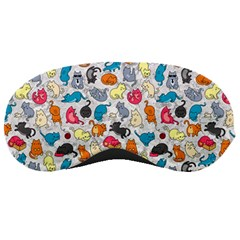 Funny Cute Colorful Cats Pattern Sleeping Masks
