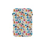 Funny Cute Colorful Cats Pattern Apple iPad Mini Protective Soft Cases Front