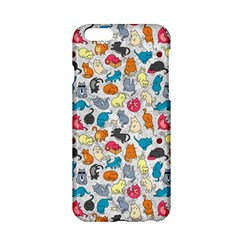 Funny Cute Colorful Cats Pattern Apple Iphone 6/6s Hardshell Case
