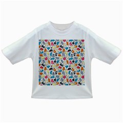 Funny Cute Colorful Cats Pattern Infant/toddler T Shirts