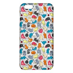 Funny Cute Colorful Cats Pattern Iphone 6 Plus/6s Plus Tpu Case by EDDArt