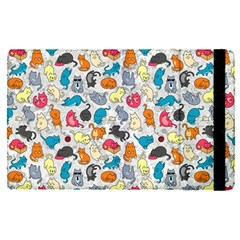 Funny Cute Colorful Cats Pattern Apple Ipad Pro 9 7   Flip Case by EDDArt