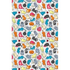 Funny Cute Colorful Cats Pattern 5 5  X 8 5  Notebooks by EDDArt