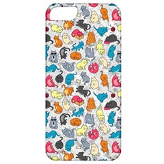Funny Cute Colorful Cats Pattern Apple Iphone 5 Classic Hardshell Case