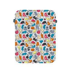 Funny Cute Colorful Cats Pattern Apple Ipad 2/3/4 Protective Soft Cases by EDDArt