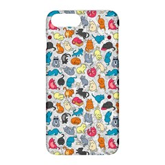 Funny Cute Colorful Cats Pattern Apple Iphone 8 Plus Hardshell Case