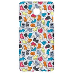 Funny Cute Colorful Cats Pattern Samsung C9 Pro Hardshell Case
