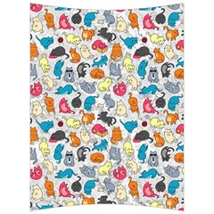 Funny Cute Colorful Cats Pattern Back Support Cushion