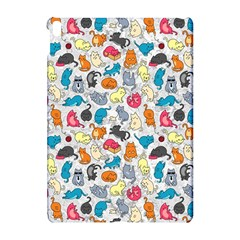 Funny Cute Colorful Cats Pattern Apple Ipad Pro 10 5   Hardshell Case