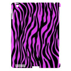 Zebra Stripes Pattern Trend Colors Black Pink Apple Ipad 3/4 Hardshell Case (compatible With Smart Cover) by EDDArt