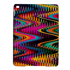 Multicolored Wave Distortion Zigzag Chevrons Ipad Air 2 Hardshell Cases by EDDArt