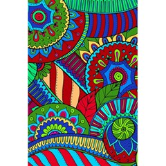 Pop Art Paisley Flowers Ornaments Multicolored 2 5 5  X 8 5  Notebooks by EDDArt