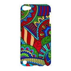 Pop Art Paisley Flowers Ornaments Multicolored 2 Apple Ipod Touch 5 Hardshell Case by EDDArt