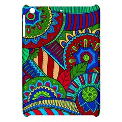 Pop Art Paisley Flowers Ornaments Multicolored 2 Apple Ipad Mini Hardshell Case by EDDArt