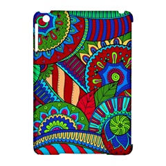 Pop Art Paisley Flowers Ornaments Multicolored 2 Apple Ipad Mini Hardshell Case (compatible With Smart Cover) by EDDArt