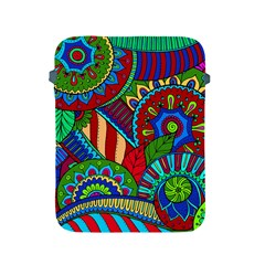 Pop Art Paisley Flowers Ornaments Multicolored 2 Apple Ipad 2/3/4 Protective Soft Cases by EDDArt