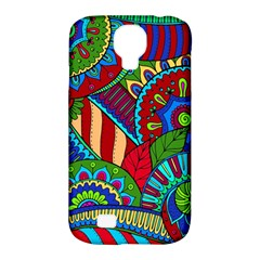 Pop Art Paisley Flowers Ornaments Multicolored 2 Samsung Galaxy S4 Classic Hardshell Case (pc+silicone) by EDDArt