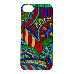 Pop Art Paisley Flowers Ornaments Multicolored 2 Apple Iphone 5s/ Se Hardshell Case by EDDArt