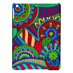 Pop Art Paisley Flowers Ornaments Multicolored 2 Ipad Air Hardshell Cases by EDDArt