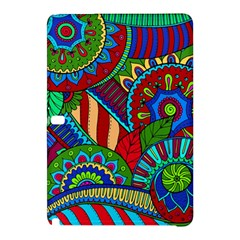 Pop Art Paisley Flowers Ornaments Multicolored 2 Samsung Galaxy Tab Pro 10 1 Hardshell Case by EDDArt