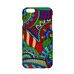 Pop Art Paisley Flowers Ornaments Multicolored 2 Apple Iphone 6/6s Hardshell Case by EDDArt
