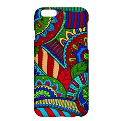 Pop Art Paisley Flowers Ornaments Multicolored 2 Apple Iphone 6 Plus/6s Plus Hardshell Case by EDDArt