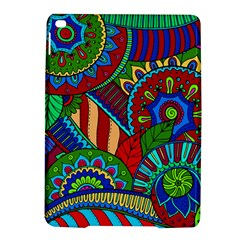 Pop Art Paisley Flowers Ornaments Multicolored 2 Ipad Air 2 Hardshell Cases by EDDArt