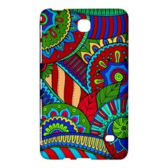 Pop Art Paisley Flowers Ornaments Multicolored 2 Samsung Galaxy Tab 4 (7 ) Hardshell Case  by EDDArt