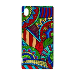 Pop Art Paisley Flowers Ornaments Multicolored 2 Sony by EDDArt