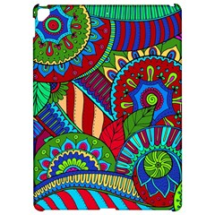 Pop Art Paisley Flowers Ornaments Multicolored 2 Apple Ipad Pro 12 9   Hardshell Case by EDDArt
