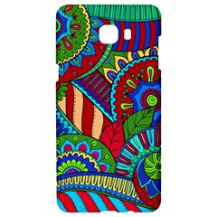 Pop Art Paisley Flowers Ornaments Multicolored 2 Samsung C9 Pro Hardshell Case  by EDDArt