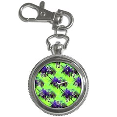 Palm Trees Lime In The Coconut Key Chain Watches by CrypticFragmentsColors
