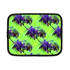 Palm Trees Lime In The Coconut Netbook Case (small)  by CrypticFragmentsColors