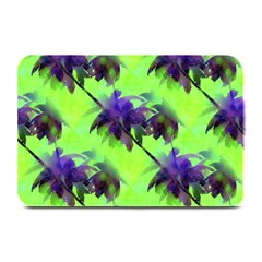Palm Trees Lime In The Coconut Plate Mats