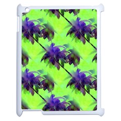 Palm Trees Lime In The Coconut Apple Ipad 2 Case (white) by CrypticFragmentsColors