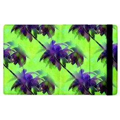 Palm Trees Lime In The Coconut Apple Ipad 3/4 Flip Case by CrypticFragmentsColors